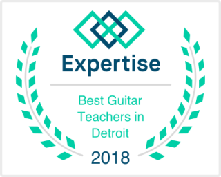 Expertise.com Best Guitar Teachers award 2018